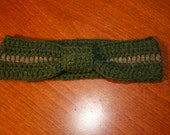 Wool Blend head band ear warmer