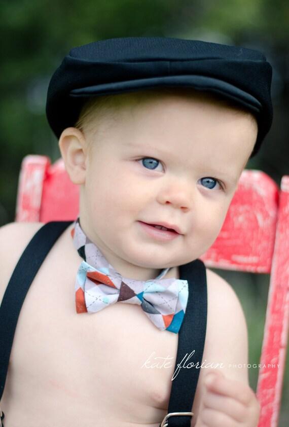 BLACK Newsboy Hat, Newborn,Photography Prop, Baby Boy Hat, Newborn photo prop, drivers cap