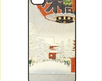 Hiroshige - Kinryuzan Temple - iPhone / Android Phone Case / Cover, iPhone 4 / 4s, 5 / 5s, 6 / 6 Plus, Samsung Galaxy s4, s5