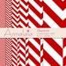 Digital Paper Pack Dark Red and White Chevron Herringbone Zig Zag Zigzag Stripes Scrapbook Paper Instant Download Commercial Use 303