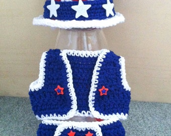 Patriotic Fourth of July Outfit for Boys