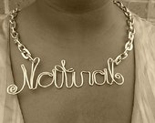 """Wired """"Natural"""" Necklace  Free shipping in US"""