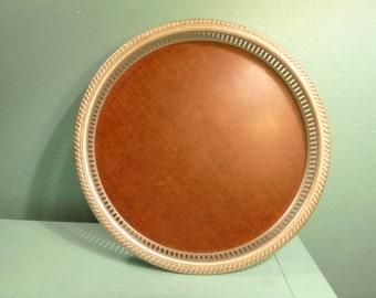 Large Round Bar Tray - Free Shipping