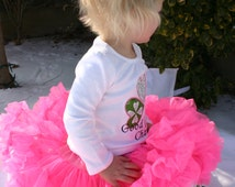 Ari's Angels Girls Pink Pettiskirt, Tutu Fluffy photo prop or dance skirt, Full Twirl Skirt