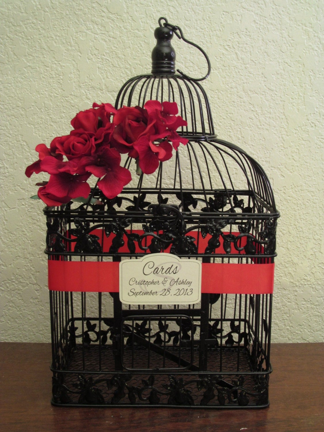 Birdcage For Wedding Gift Cards : Etsy - Your place to buy and sell all things handmade, vintage, and ...