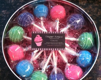 Cake Pops - Bright Colors