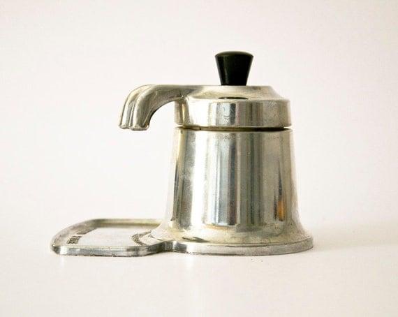 Vintage Italian coffee maker OMG aluminum