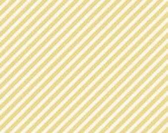 Marguerite Stripe Green by Stitch Studios for Riley Blake 1 Yard Cut