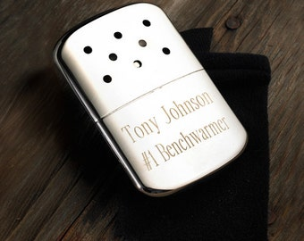 Zippo Hand Warmer - Gifts for Men - Groomsmen - Camping - Sports - (661)