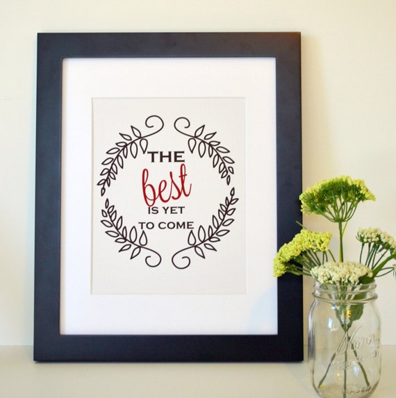 Items similar to housewarming gift ideas 11x14 the best is for The best housewarming gift