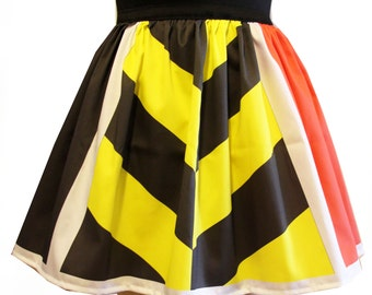 Queen of Hearts Full Skirt