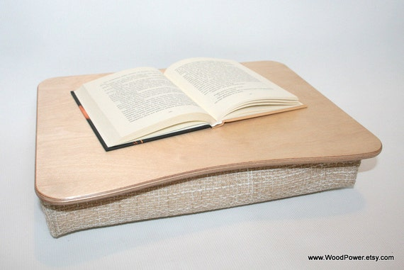 Wooden Laptop Desk Bed Tray Serving Tray Pillow Tray