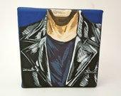 Doctor Who Ninth Doctor small canvas painting