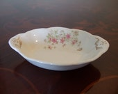 Antique O.P. Co. Onondaga Pottery Co. Syracuse China Small Dessert Serving Fruit Bowl