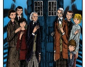 The First Doctors (Color Art)
