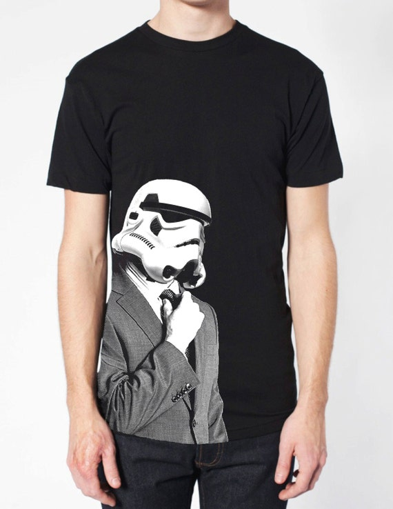 Storm Trooper Suit Up T Shirt American Apparel S M L Xl By