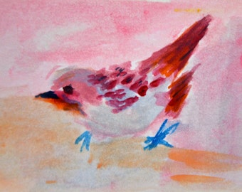 Original ACEO- Sparrow