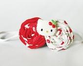 Hello Kitty Red Roses Headband
