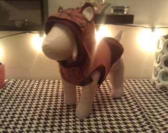 Ewok Dog Costume (Made to order)