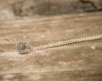 9mm Bullet End Necklace (ITEM 47)
