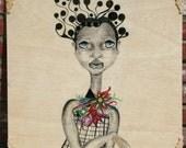 Original African Art on Wood