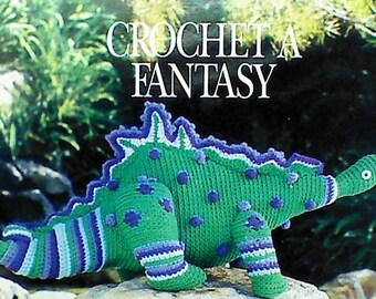 12 Vintage Crochet Dinosaur Patterns
