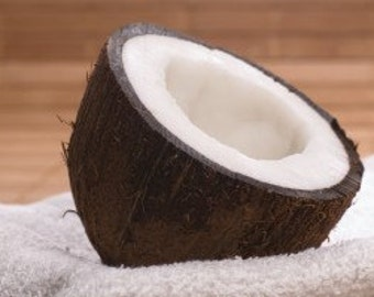 1/2oz Natural Coconut Perfume Oil, Coconut Fragrance Oil, Coconut Scent, Lotions and Potions