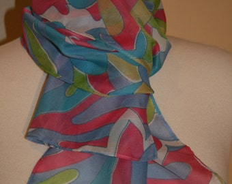 70s Psychedelic Scarf