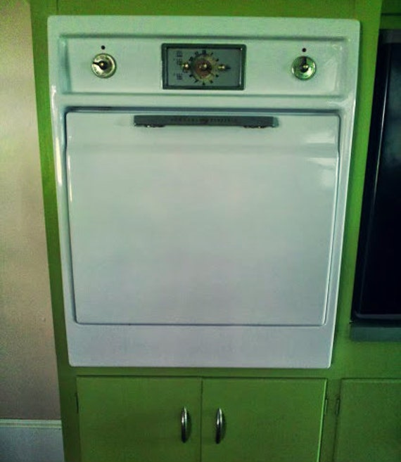 Vintage General Electric Wall Ovens ~ Items similar to vintage white general electric built