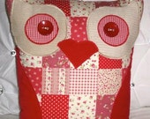 """New Personalised Listing 8""""x16"""" Owl cushions with a tie x2 & Blanket sets x2"""