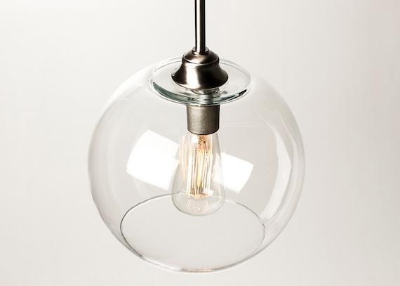 pendant light fixture edison bulb large globe. Black Bedroom Furniture Sets. Home Design Ideas