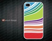 IPhone 5 case IPhone 4 case iphone cover iphone four cases unique case iphone 4 or 4s case colorized curve design