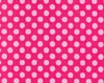 SALE Michael Miller Confection pink Ta Dot 1 yard cut