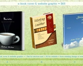 Ebook Custom Cover Design -and- 3D Sales Graphic