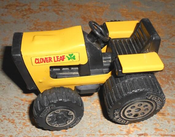 Vintage Tonka Tractors : Vintage toy tractor tonka clover leaf yellow farm