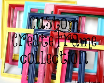 PICTURE FRAME COLLECTION gallery wall collage picture frame grouping
