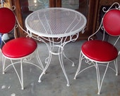 Ice Cream Parlor Table and Chairs