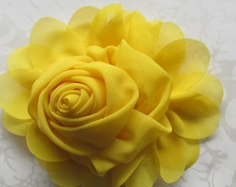 Fabric Flower / Hair Flower / 1pc