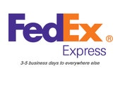 Fast shipping with Fedex - 3-5 business days