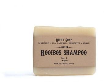 Natural Shampoo,  Rooibos Soap bar, Natural soaps, handmade soaps, Christmas gifts, Stocking stuffers, gift for mom