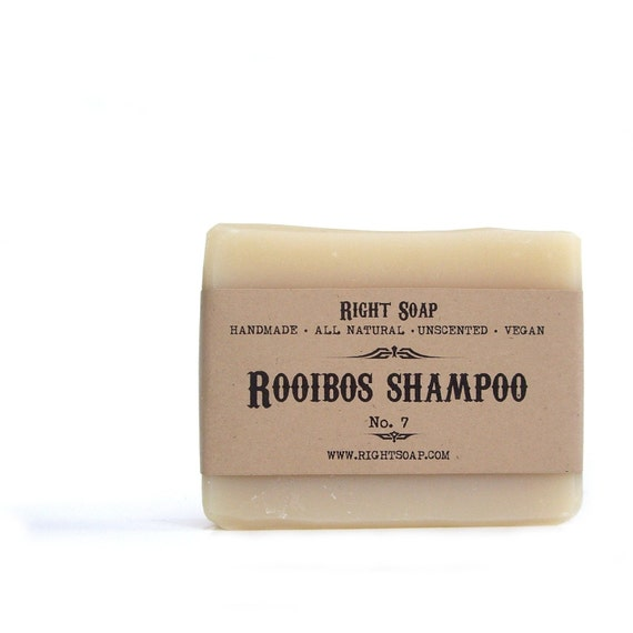 Natural Shampoo,  Rooibos Soap bar, Natural soaps, handmade soaps, Christmas gifts, Stocking stuffers, gift for mom