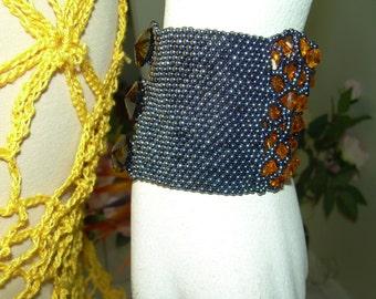 Hematite Crystal Cuff