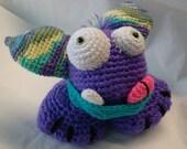 Amigurumi Crochet Pattern - Stomp the Gumball Dragon