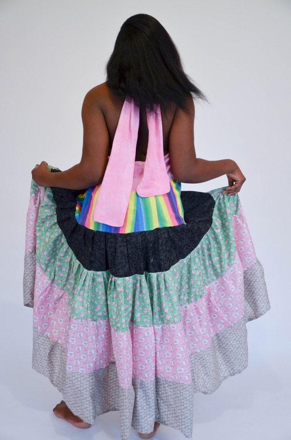 Gypsy Boho Hippie Summer Dress