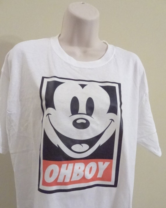 Mickey Mouse Obey Face Ohboy Obey Mickey Mouse Face