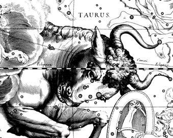 Astronomy, Zodiac constellation, Moon poster, 132