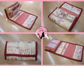 Accordion Fabric Wallet Sewing Pattern