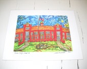 "Bosse High School - An 11"" x 14"" Signed Print"