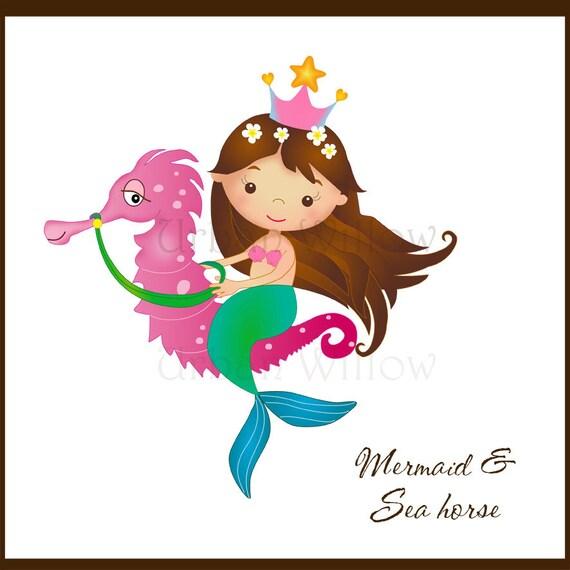 Mermaid Clip Art Undersea Graphics Clipart Mermaid