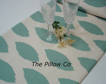 "Blue Table Runner - Wedding - 12"" X 52"" Table Cloth - Decorative  Table runner   ""Chipper  ""Blue Bridal Shower"